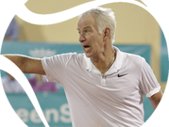 McEnroe vs Albert Costa, la mejor final para la Senior Masters Cup
