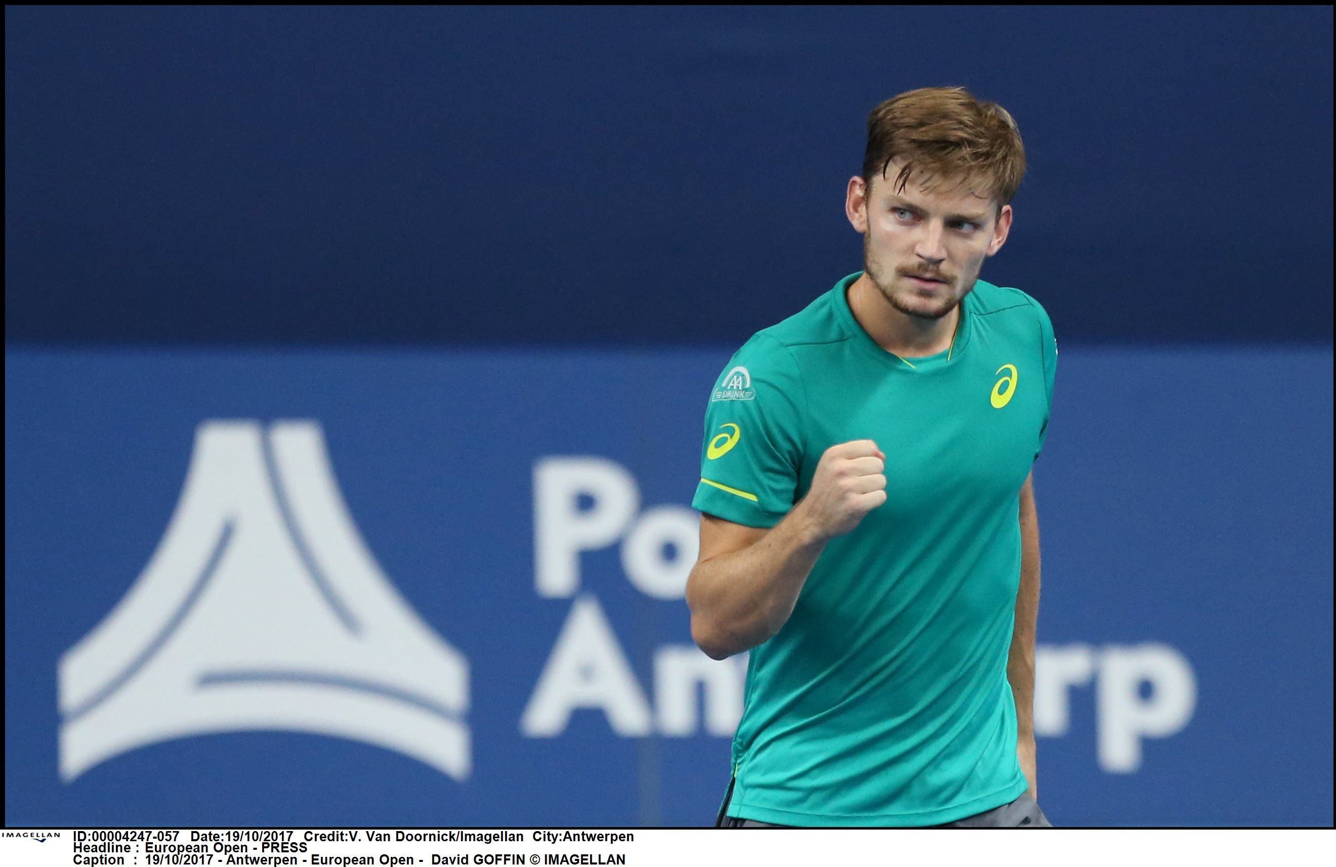 19/10/2017 - Antwerpen - European Open - David GOFFIN © IMAGELLAN