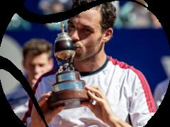 Marco Cecchinato venció a Diego Schwartzman y es el nuevo campeón del Argentina Open