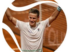 SCHWARTZMAN MOVES ON TO THE BEST EIGHT OF THE ARGENTINA OPEN AND  CERÚDOLO SURPRISE PAIRE